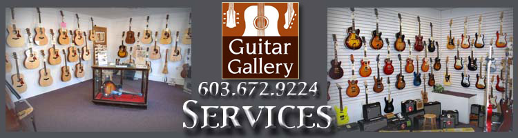 Guitar Gallery of New England located in Amherst, New